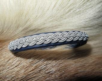 Saami braided bracelets, bracelets of reindeer, reindeer jewelry