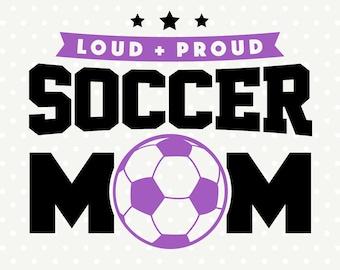 Soccer SVG, Soccer Mom file, Soccer Shirt svg, Commercial svg, DXF cutting file, Vinyl svg file, Sport SVG