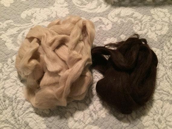 100% ultra fine suri alpaca fiber