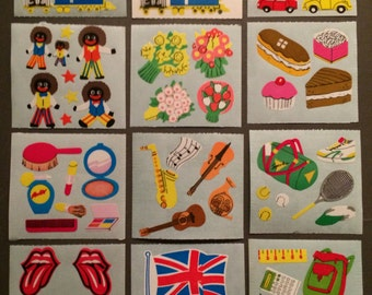 Stickermagic rare glossy sticker lot