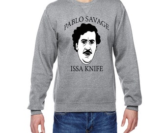 Pablo Savage Sweater mens womens unisex 21 savage pablo escobar
