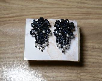 Precious blue earrings