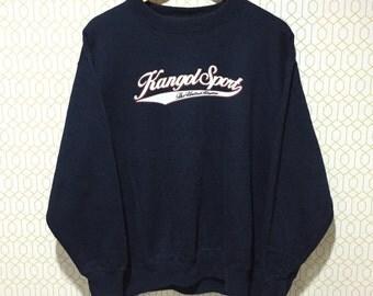 Rare!!! Sale Kangol Sport Sweatshirt Spellout Pullover Jumper Sweater