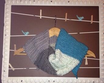 Crochet Kerchief Scarf