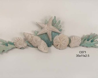 Shell and Coral Swag - C071
