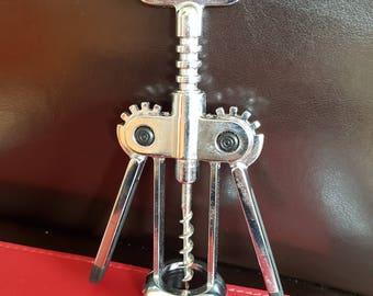 vintage heavy duty winged corkscrew