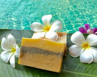 Turmeric and Tamarind Soap, Handmade Soap, Herbal Soap, Coconut milk soap