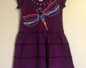 Dragonfly girls dress batik