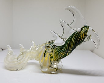 Gold Fumed Dragon Pipe