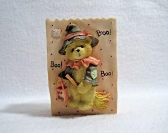 Cherished Teddies - 1995 Halloween Boo Boo Treat Bag 141879