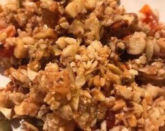 Grain free Hawaiian Joy Granola