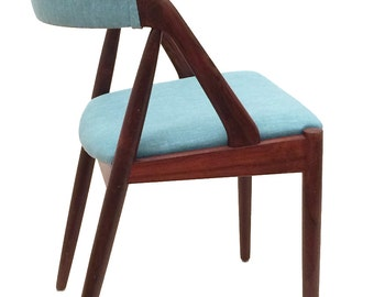 4 Mid Century dining chairs by Kai Kristiansen for SVA Møbler in Brazilian Rosewood - new upholstery