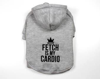 Dog Sweater - Fetch Is My Cardio