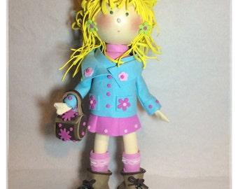 Sweet Blonde Foam Doll