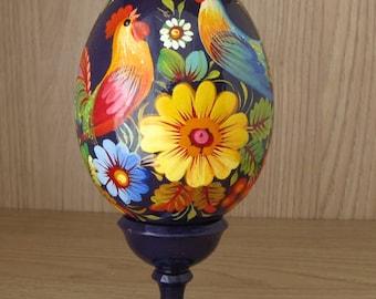 Collectible Petrykivka Egg