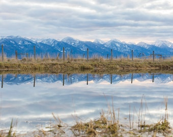 Mission Mountain Reflection