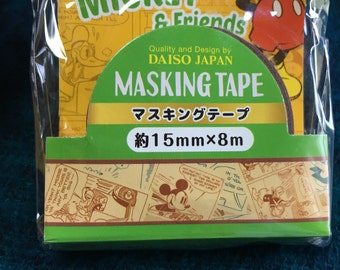 Masking tape Micky mouse pattern from japan