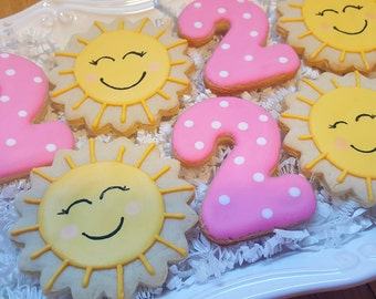 Your My Sunshine Cookies Party Favors
