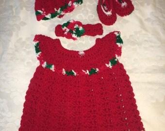 Cristmas dress/jumper set