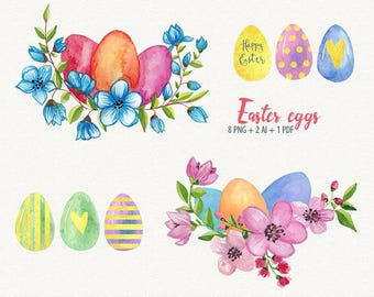 Easter egg clipart | Etsy