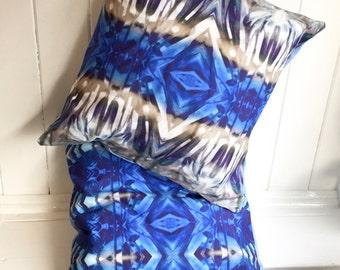 Agapanthus Bright Blue Cushion