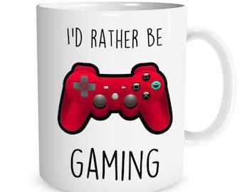 I'd rather be GAMING Ceramic Mug