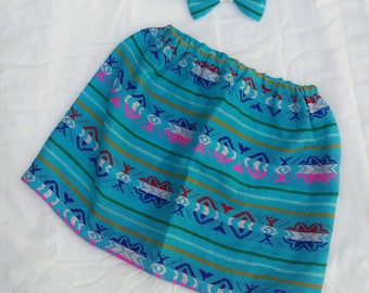 Girls Sarape Skirt Size 5T