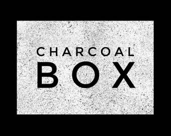 CHARCOAL BOX 3-in-1 (Morning to Midnight - 90g Charred Face - 100g Dusk - 100g)