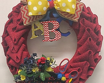 ABC Wreath