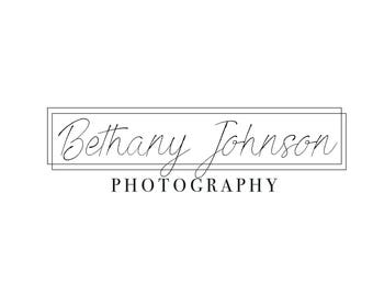 Custom Simple Photography Logo