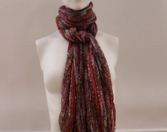 Colourful Shawl (Orange/Red/Blue/Pink/Purple/Yellow)