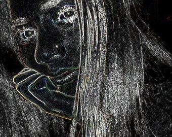 Beautiful Girl Art Photo