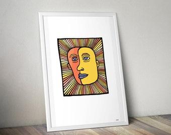 Sunbaby Illustration
