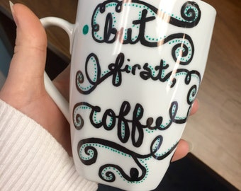 Custom-made coffee mugs