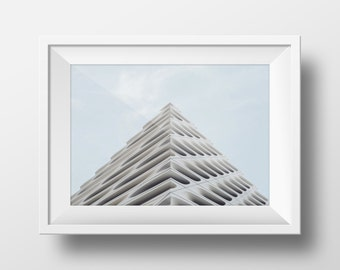 Architecture Print, Urban Art, Architectural Photography, Art, Framed photo, Building Photography, Print, Instant Download Art