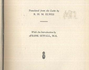 1st Edition: The Philosophy of Benedict de Spinoza   c. 1934