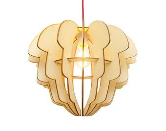 Lamp ' Artichoke ' laser-cut