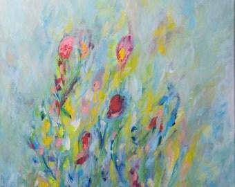 English garden (48 x 36)