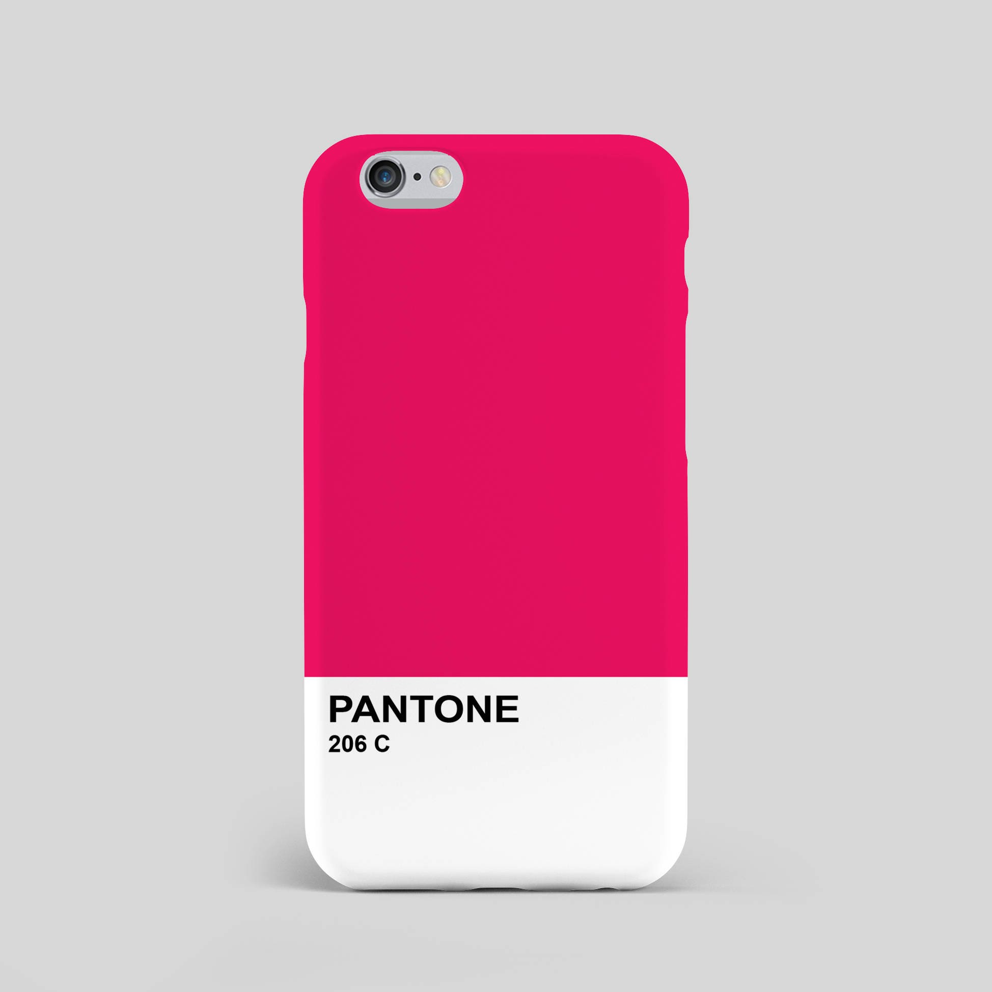 Pantone Pink 206 C Unofficial 3d Phone on Name Color By Note