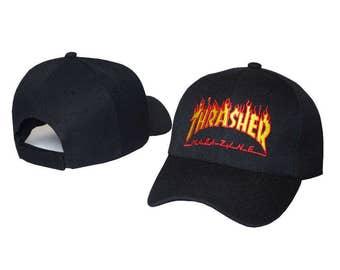 Black Thrasher baseball cap