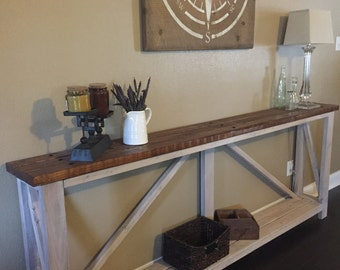 The Original Farmhouse Console Table
