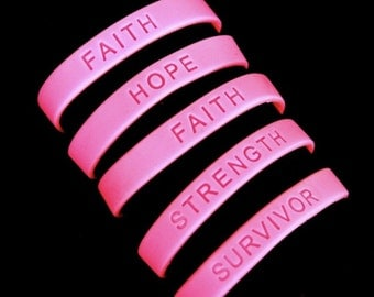 Breast Cancer Awareness Bracelets