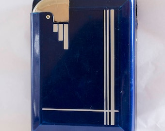 "Fabulous 1930s Art Deco Cigarette Case ""Magic Case"" - ejected lit cigarettes (supposedly)!"