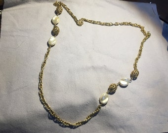 Vintage Gold Chain Nacklace