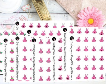 Lil'Emojis Decorative Hand Drawn Planner Stickers