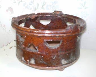 firepot pottery antique glazed