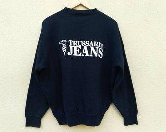 Vintage Trussardi jeans sweatshirt