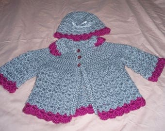 Baby Sweater & Hat