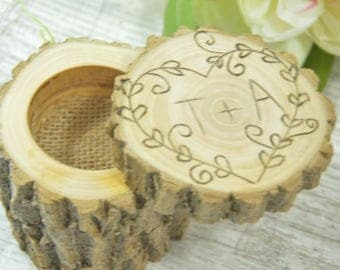 wooden ring box etsy. Black Bedroom Furniture Sets. Home Design Ideas