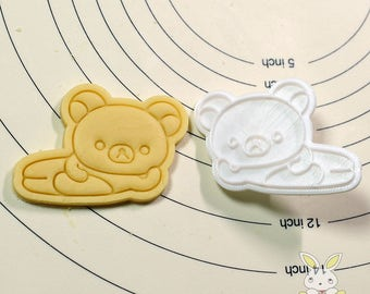 Sexy Rirakuma Cookie Cutter and Stamp